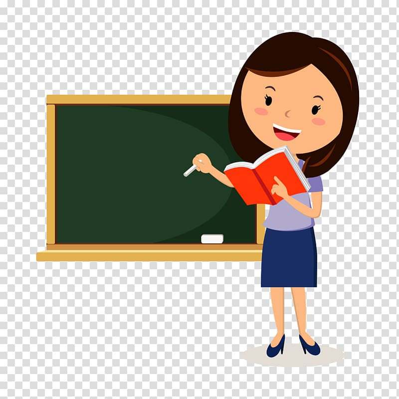 Teacher pointing at board clipart transparent library Teacher transparent background PNG clipart | HiClipart transparent library