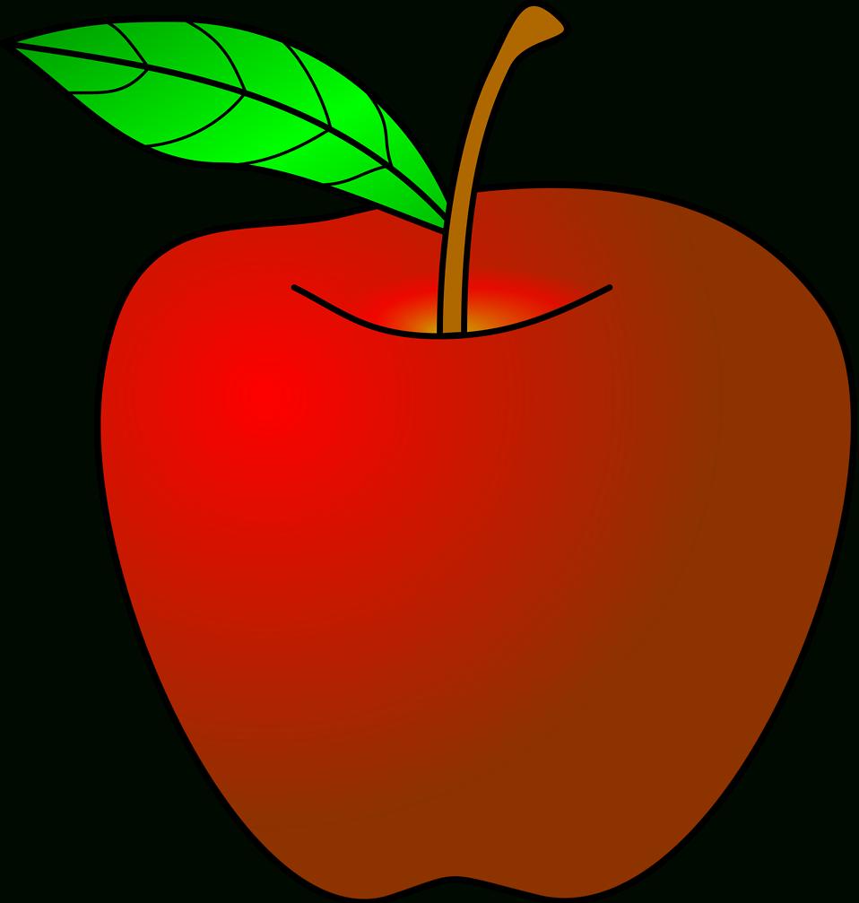 Teacher apple black and white clipart picture transparent download Teacher Apple Clipart No Background   Letters Format picture transparent download