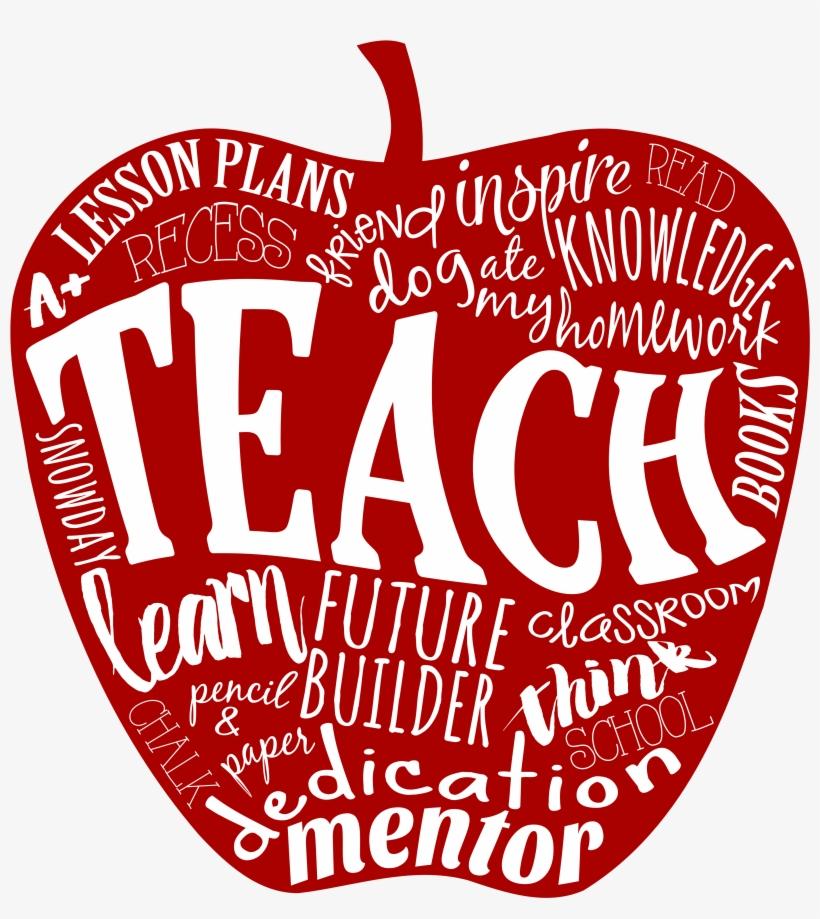 Teacher appreciaton clipart transparent background svg free library Apple Teacher Png - Teacher Appreciation Apple - 11oz ... svg free library