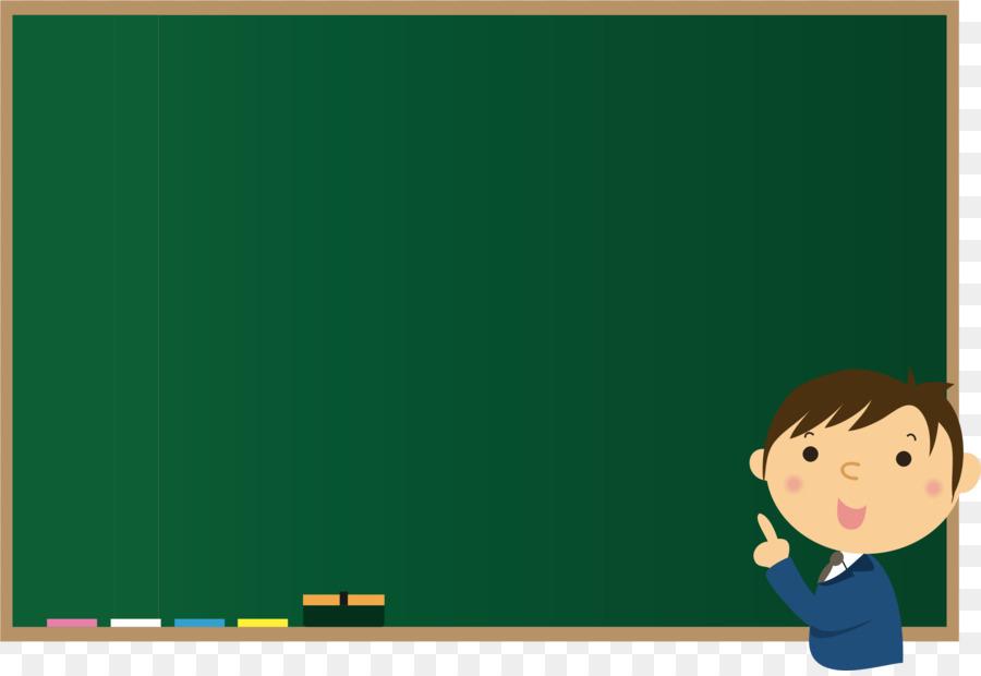 Teacher at chalkboard clipart clip royalty free stock Green Background Frame clipart - Teacher, Education ... clip royalty free stock