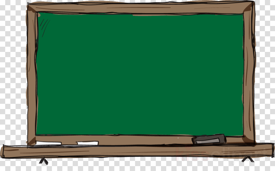 Teacher at chalkboard clipart
