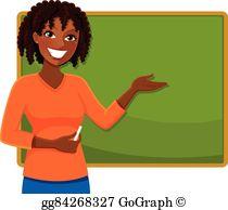 Teacher at chalkboard clipart clip transparent stock Teacher Blackboard Clip Art - Royalty Free - GoGraph clip transparent stock