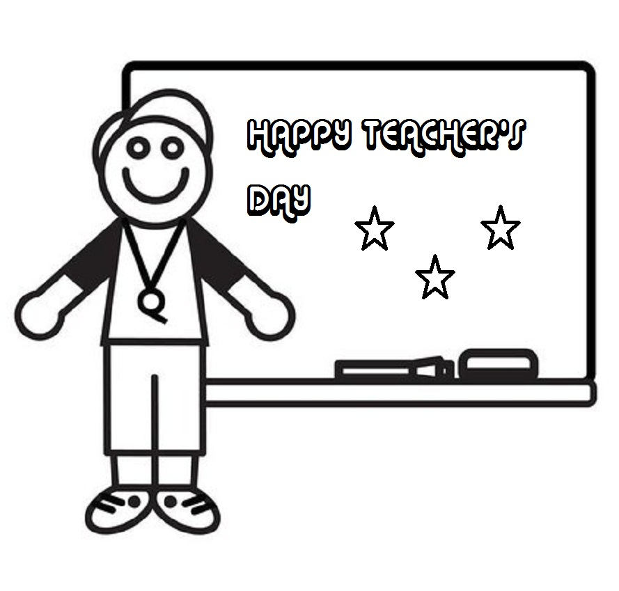 Teacher black and white clipart printable clip library stock Free Copyright Free Images For Teachers, Download Free Clip ... clip library stock