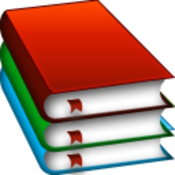 Teacher books clipart vector freeuse Books Clipart Icon vector freeuse