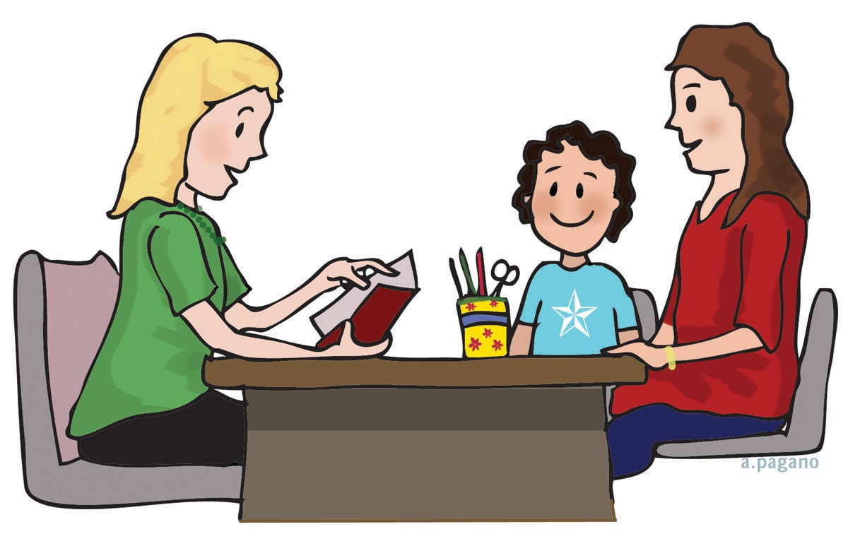 Parent meeting clipart image black and white library Clipart of a teacher speaking collection teachers – Gclipart.com image black and white library