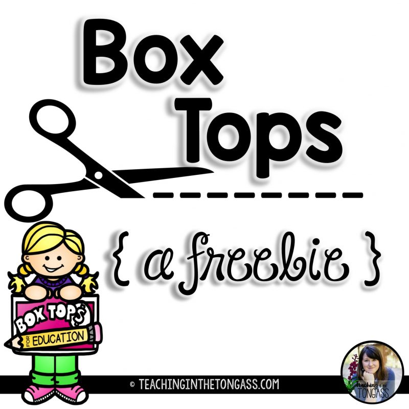 Teacher comments box clipart svg freeuse box tops - Teaching in the Tongass svg freeuse