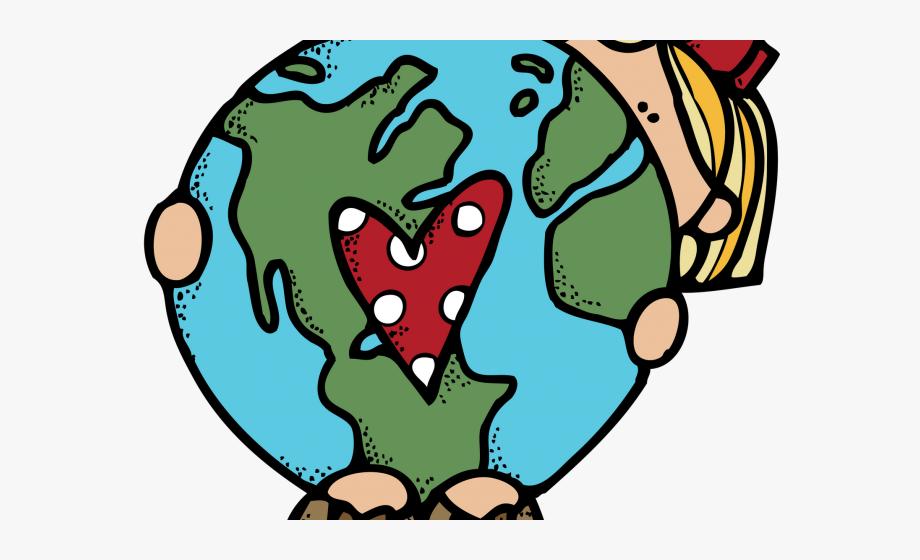Earth Day Clipart Teacher Hug - Melonheadz Earth Day #246309 ... clipart black and white library