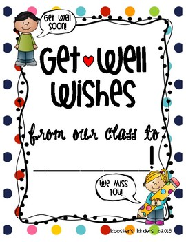 Teacher letter to student clipart clip free stock Get Well Soon Class Book Letter Writing Picture for sick student, teacher,  para clip free stock