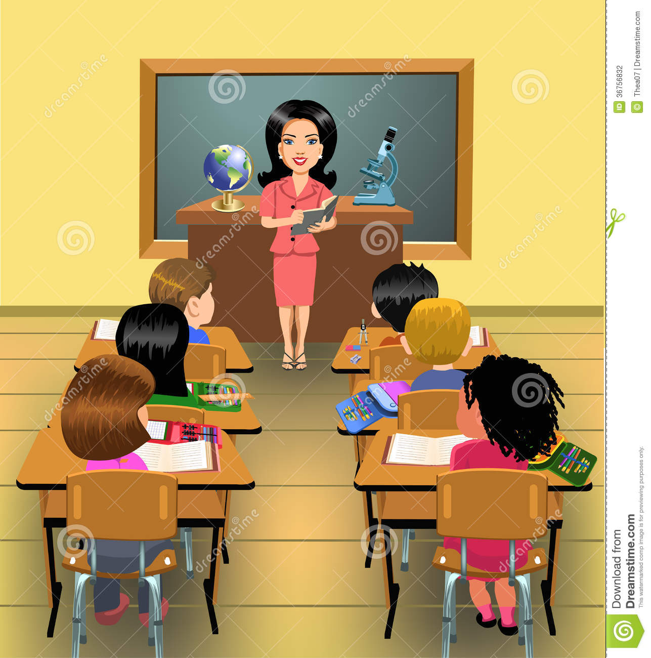 Teacher modeling a lesson clipart clipart freeuse Chapter Two: The Teacher in the Classroom and Community ... clipart freeuse