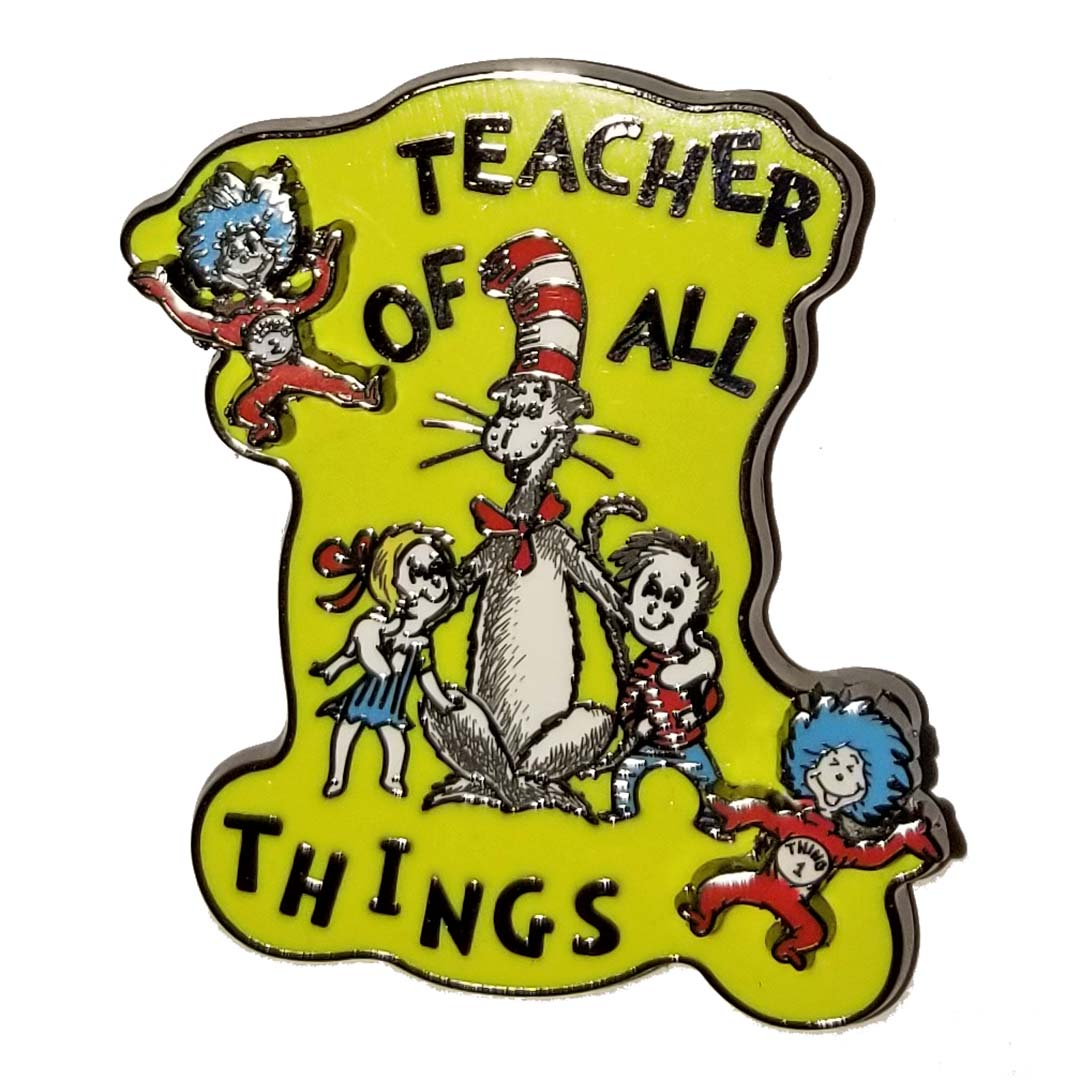 Teacher of all things dr seuss clipart banner library download Universal Pin - Dr. Seuss - Teacher of All Things banner library download