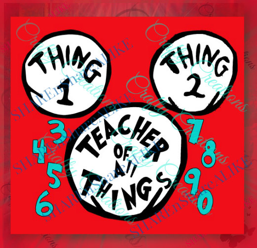 Teacher of all things dr seuss clipart royalty free library Thing 1 And Thing 2 Book   Free download best Thing 1 And ... royalty free library