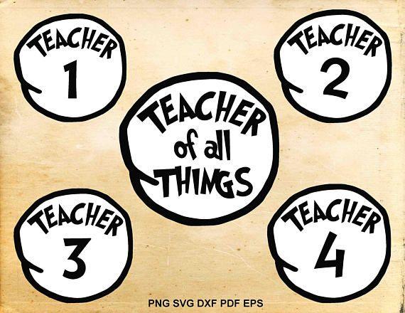 Teacher of all things dr seuss clipart svg freeuse download Teacher of all things Teacher svg Dr seuss svg Cut files ... svg freeuse download