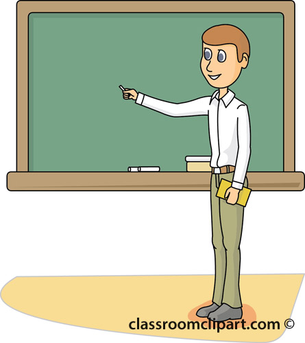 Teacher pointing at board clipart clipart freeuse stock Teacher Pointing to Board » Clipart Station clipart freeuse stock