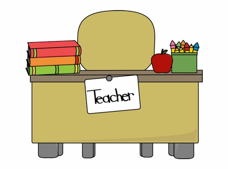 Teacher table clipart vector transparent download Classroom - Table - Clipart - Teacher Desk Clipart - Teacher ... vector transparent download