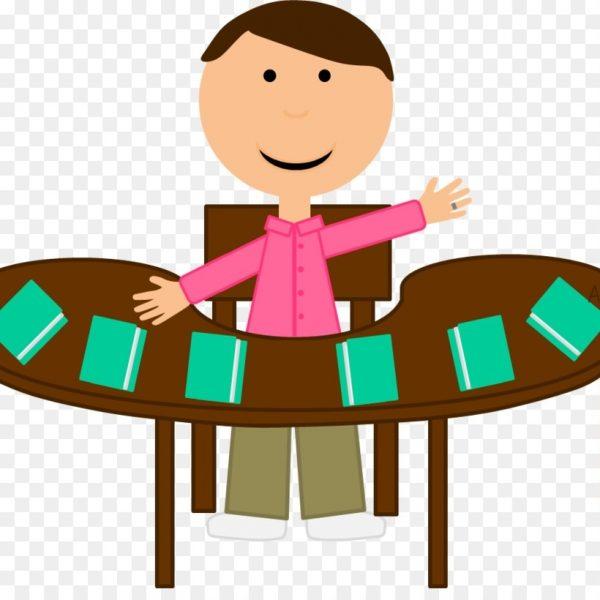Teacher table clipart clipart black and white library Student Teacher Reading Clip Art – Teacher Table Cliparts ... clipart black and white library