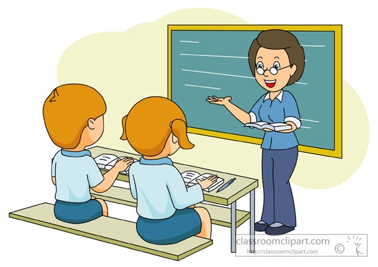 Teacher teaching students clipart picture black and white library Teacher teaching students clipart 8 » Clipart Station picture black and white library