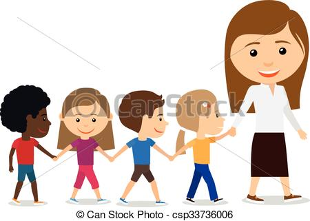 Teacher with kids clipart clip royalty free library Kids and teacher clipart - ClipartFox clip royalty free library