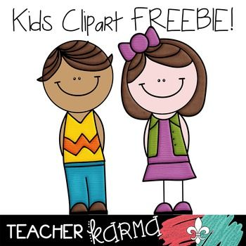 Teacher with kids clipart clip art download Kids and Students Clipart FREEBIE Clipart! Perfect for TpT sellers ... clip art download