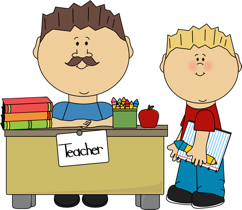 Teacher with kids clipart picture royalty free stock Male teacher with kids clipart - ClipartFest picture royalty free stock