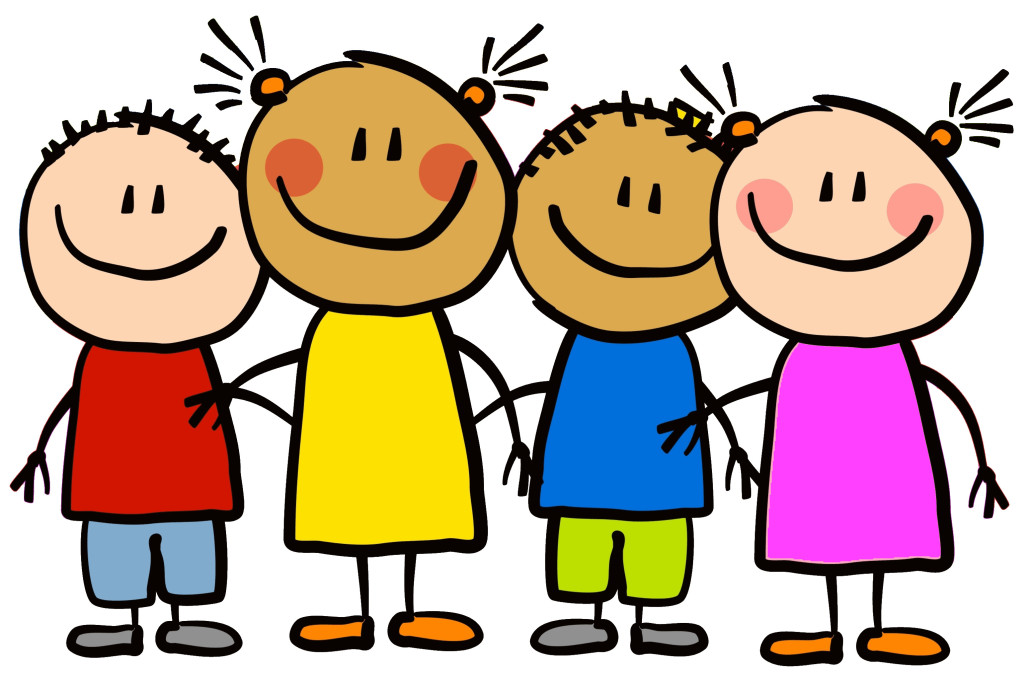 Teacher with kids clipart clipart freeuse library Teacher and kids clipart - ClipartFest clipart freeuse library