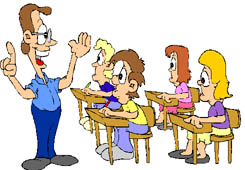 Teacher with kids clipart image transparent stock Clipart of Students, Teachers and Professors - School Graphics image transparent stock