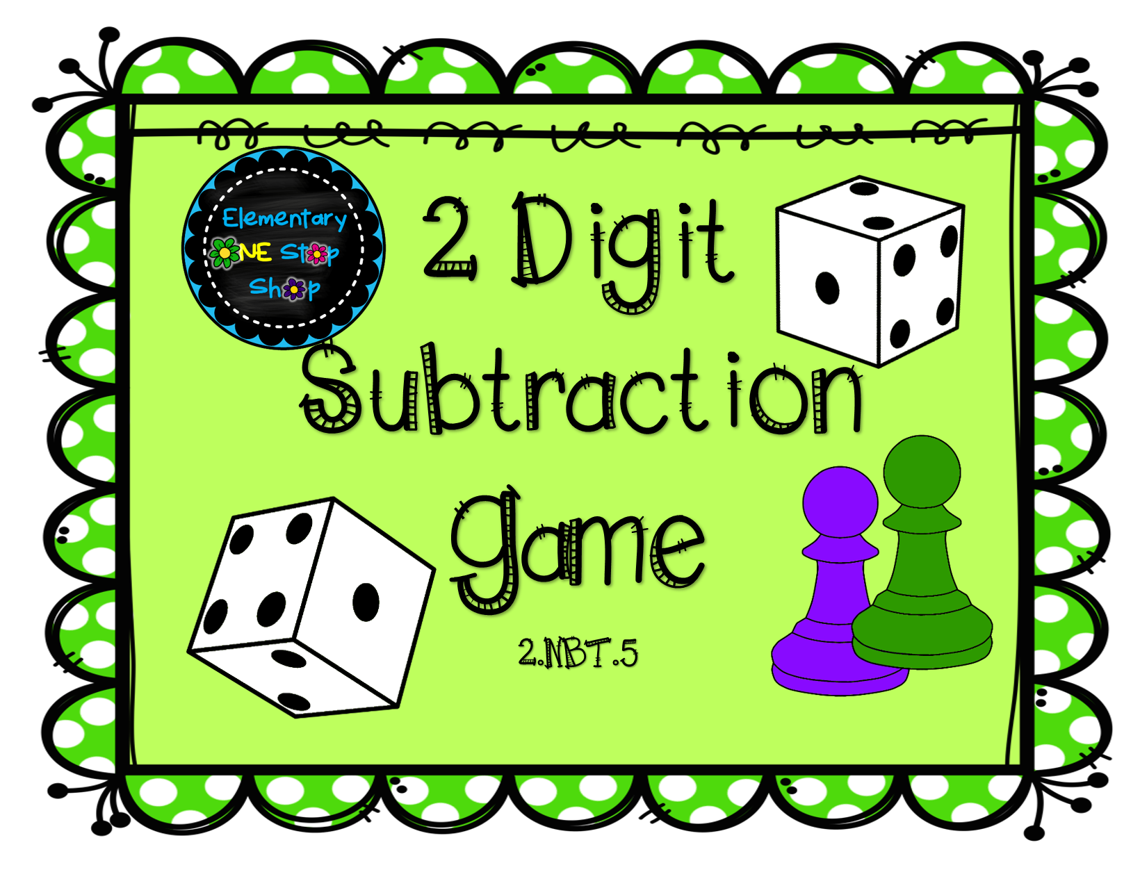 Thanksgiving and boardgames clipart picture freeuse library 2 Digit Subtraction with Regrouping Game | Pinterest | Game cards ... picture freeuse library