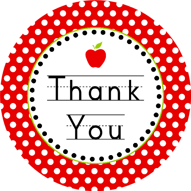 Heart thank you clipart clip freeuse FREE DOWNLOAD: Teacher Appreciation Week May 3-7 - Dimple Prints clip freeuse