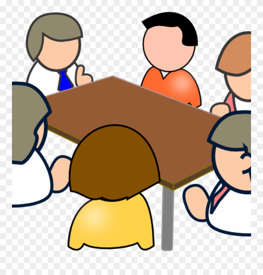 Teachers meeting clipart vector library stock Clipart Teacher Meeting - Clipart Of Student Meeting - Png ... vector library stock