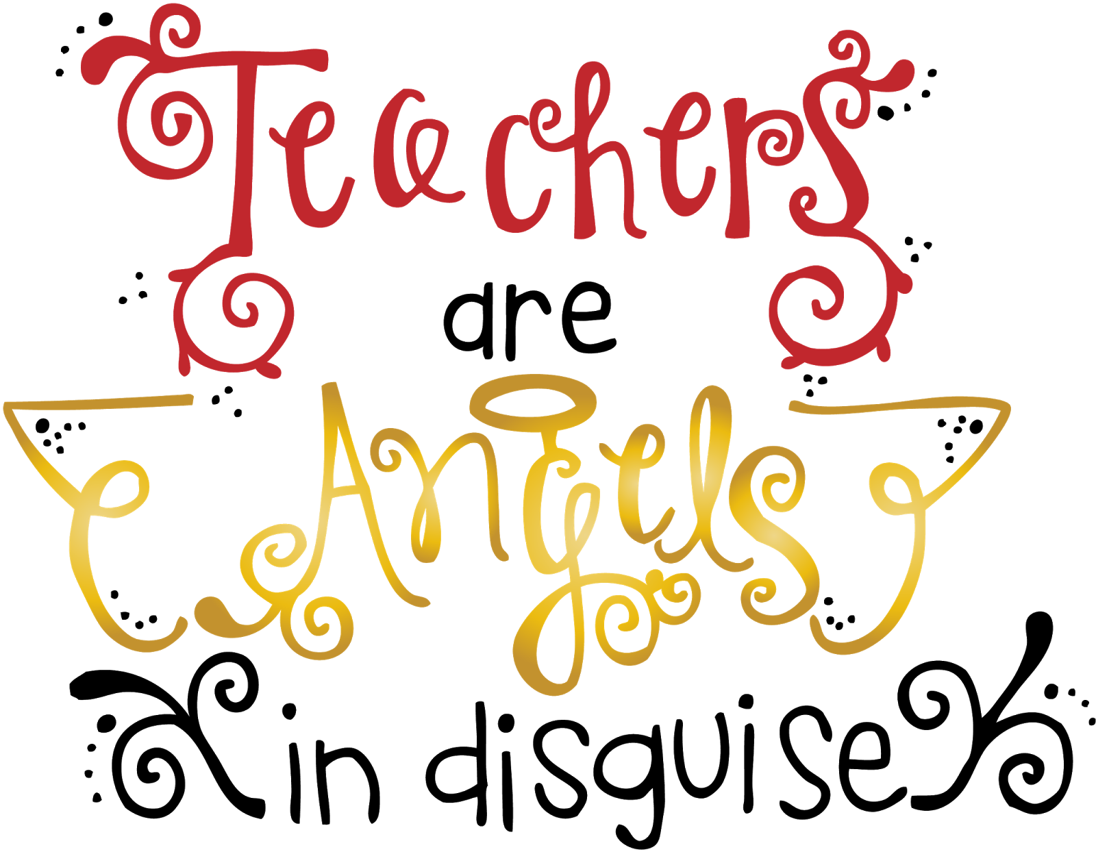 Teachers pictures clip art svg black and white library Teacher Appreciation Day Clipart - Clipart Kid svg black and white library
