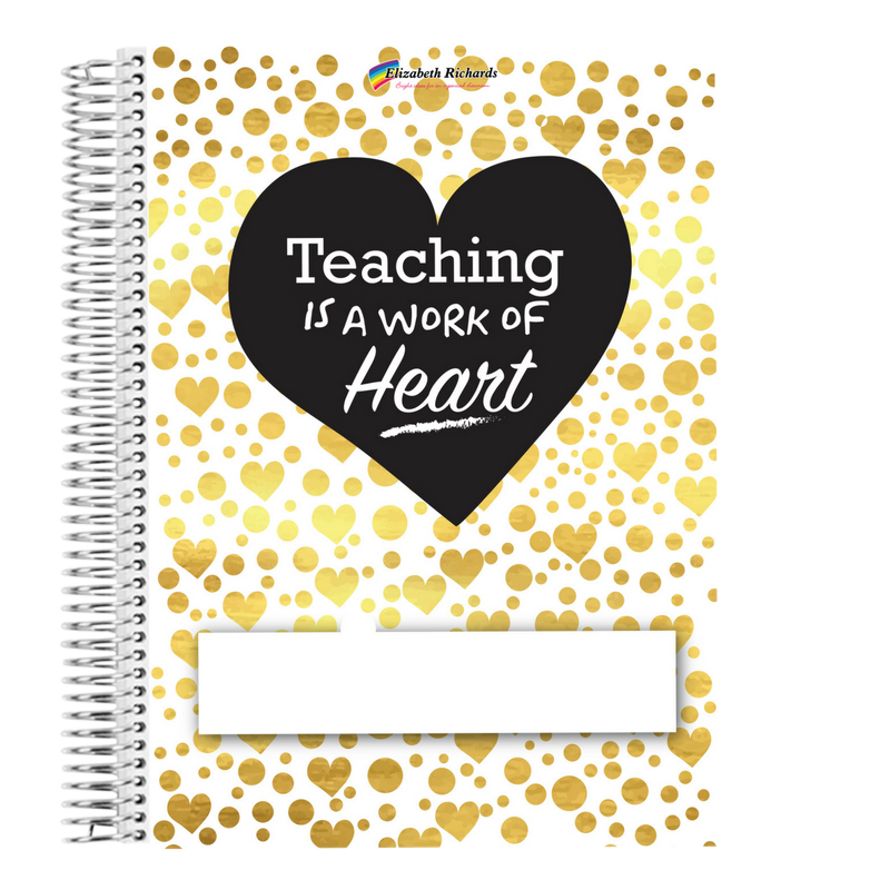 Teaching is a work of heart clipart image free stock The Elizabeth Richards Teacher Diary image free stock
