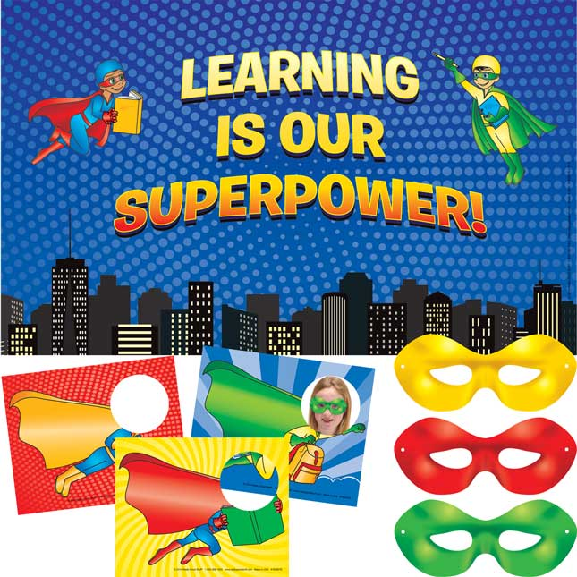 Teaching is my superpower clipart clipart library download Learning Is Our Superpower Display clipart library download