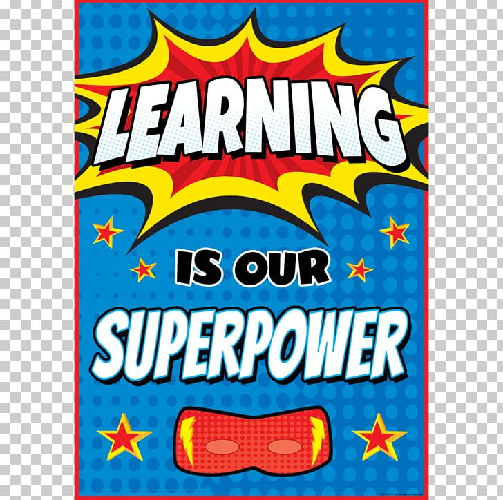 Teaching is my superpower clipart jpg free Learning Superpower School Classroom Teacher PNG, Clipart ... jpg free