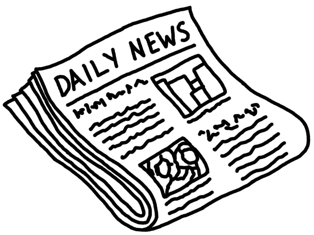 Old newspaper clipart clip stock Teaching Current Events in the Social Studies Classroom ... clip stock