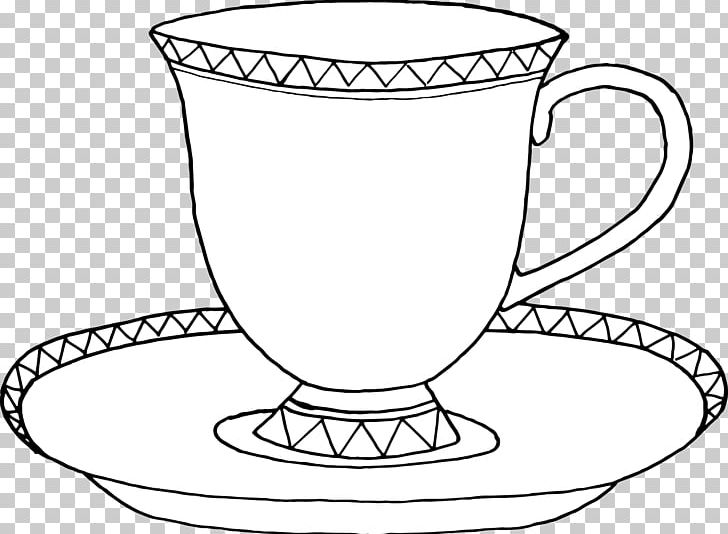 Teacup and a book clipart image freeuse library Teacup Saucer Coffee PNG, Clipart, Black And White, Coffee ... image freeuse library