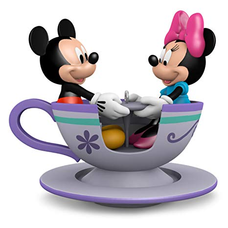 Teacup mickey head black and white clipart
