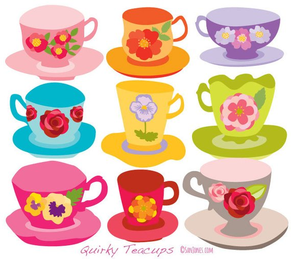 Teacups clipart clip art transparent Teacups Clip Art - tea cups clip art - Tea Party Clip Art ... clip art transparent