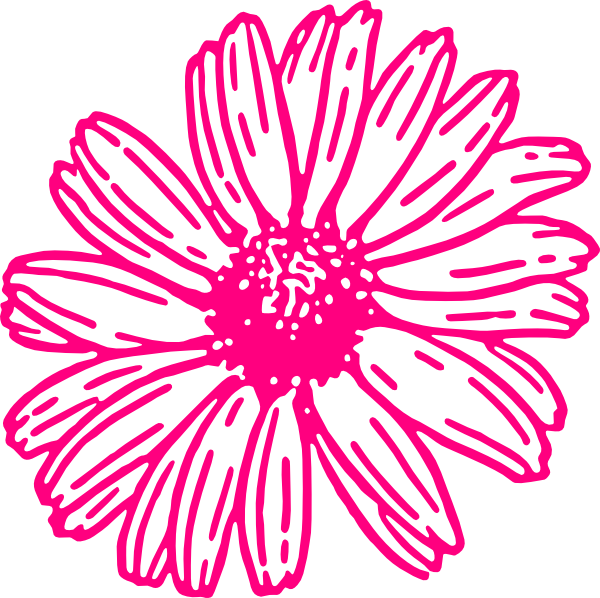 Gerber logo clipart vector royalty free Gerber+Daisy+Clip+Art | Gerberdaisypink clip art | Wedding ... vector royalty free