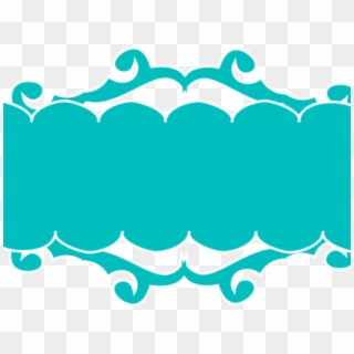 Teal banner clipart picture black and white library Teal Clipart Pennant Banner - Aqua Ribbon Banner Png ... picture black and white library