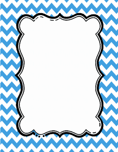 Teal blue chevron border clipart svg royalty free library Chevron Border | Free Download in Any Color You Want svg royalty free library