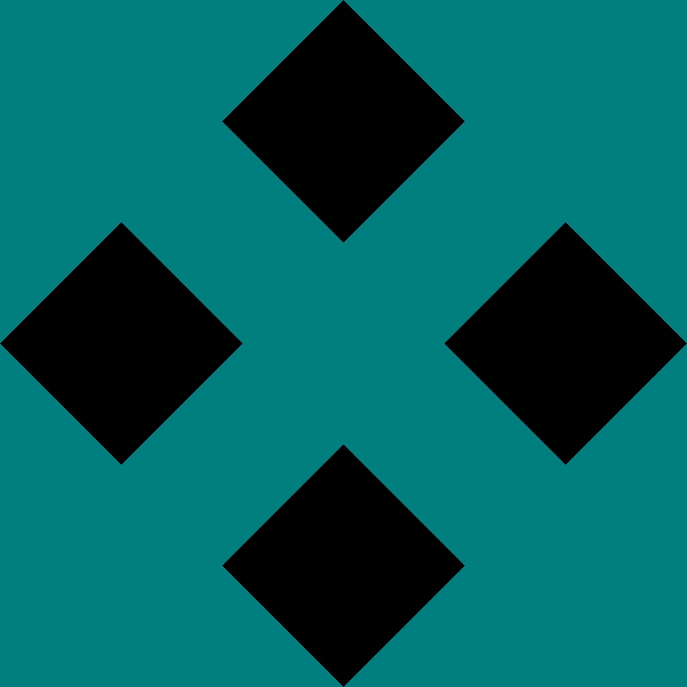 Teal cross clipart image transparent download Clipart - Cross in Squares image transparent download