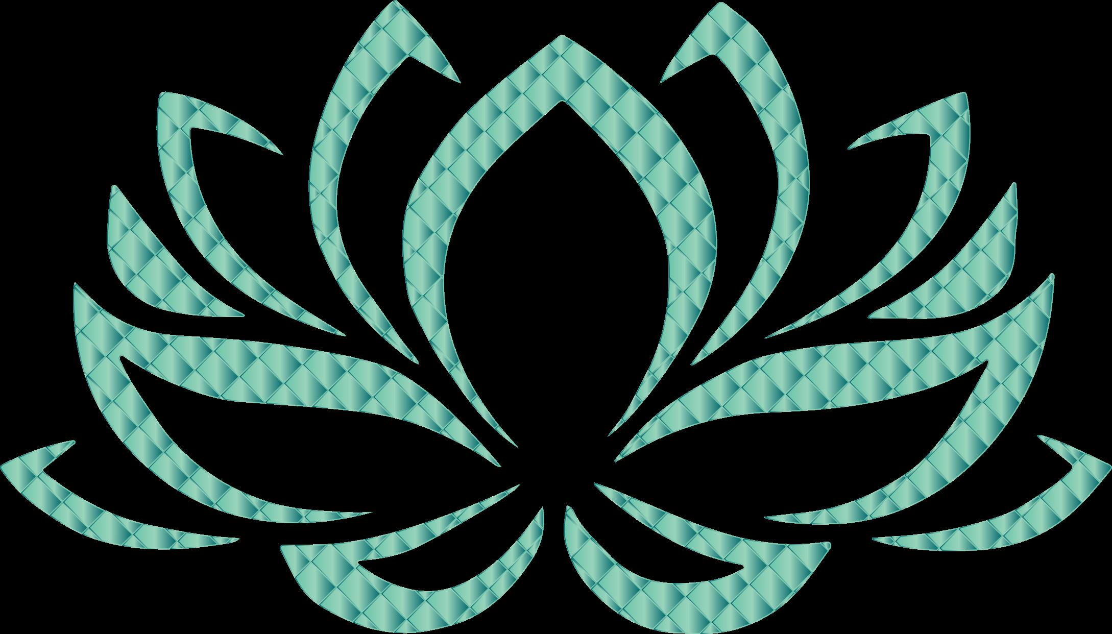 Teal flower clipart clip art library Clipart - Jade Lotus Flower No Background clip art library