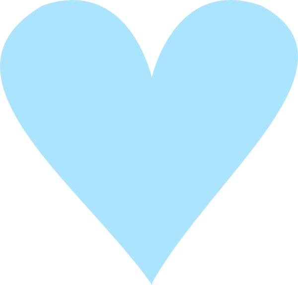 Teal heart clipart picture royalty free Teal Heart Clip Art at Clker.com - vector clip art online, royalty ... picture royalty free