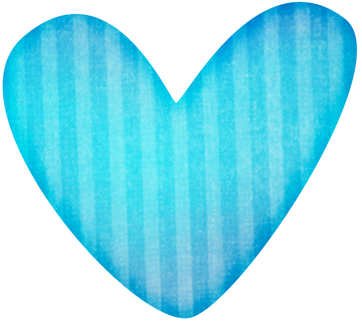 Teal heart clipart clipart free blue-stripped-heart-clipart.png 1,376×1,245 pixels | Building a ... clipart free