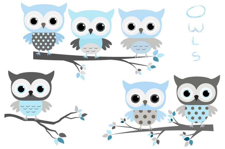 Teal owl baby shower clipart jpg royalty free stock Cute baby boy clip art, Blue grey owls clipart, Baby shower ... jpg royalty free stock