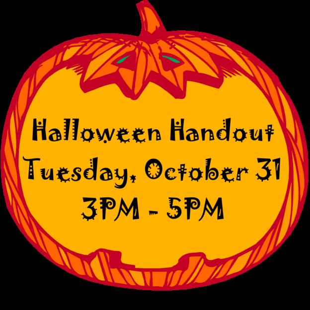 Teal pumpkin clipart jpg transparent library Halloween Handout   Downtown Crystal Lake jpg transparent library