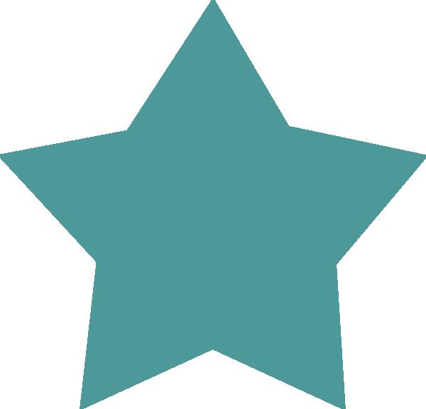 Teal star clipart jpg free library Teal Star Clip Art at Clker.com - vector clip art online, royalty ... jpg free library