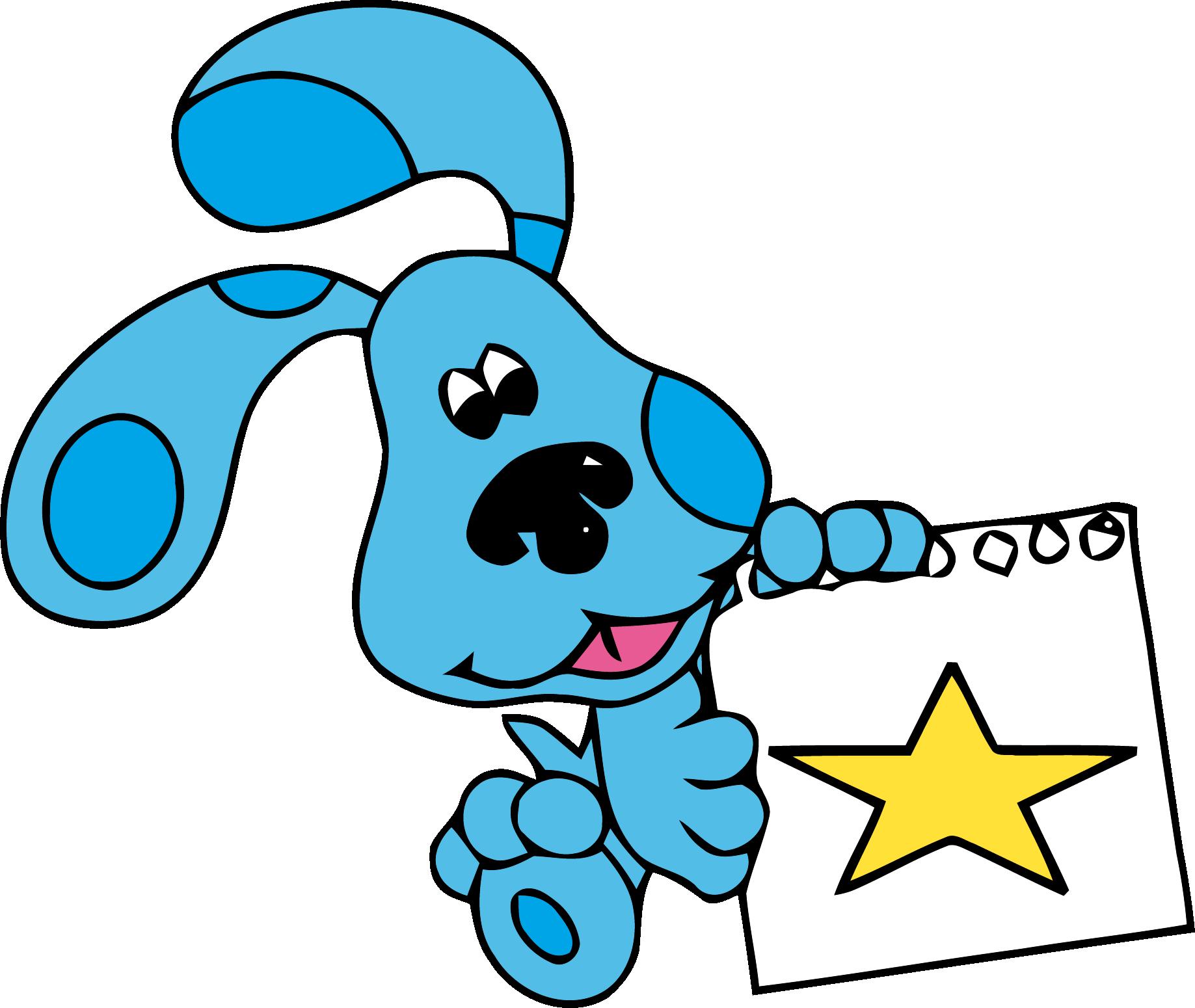 Teal star clipart jpg freeuse stock Blue's Clues Clip Art Star Clipart Png - Clipartly.comClipartly.com jpg freeuse stock