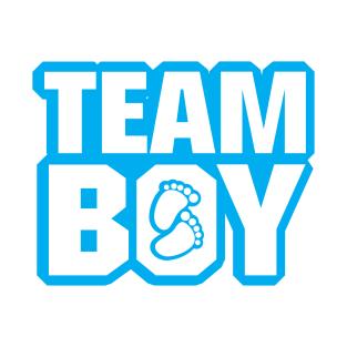 Team boy clipart jpg royalty free library Gender Reveal Baby Shower T-Shirts | TeePublic jpg royalty free library