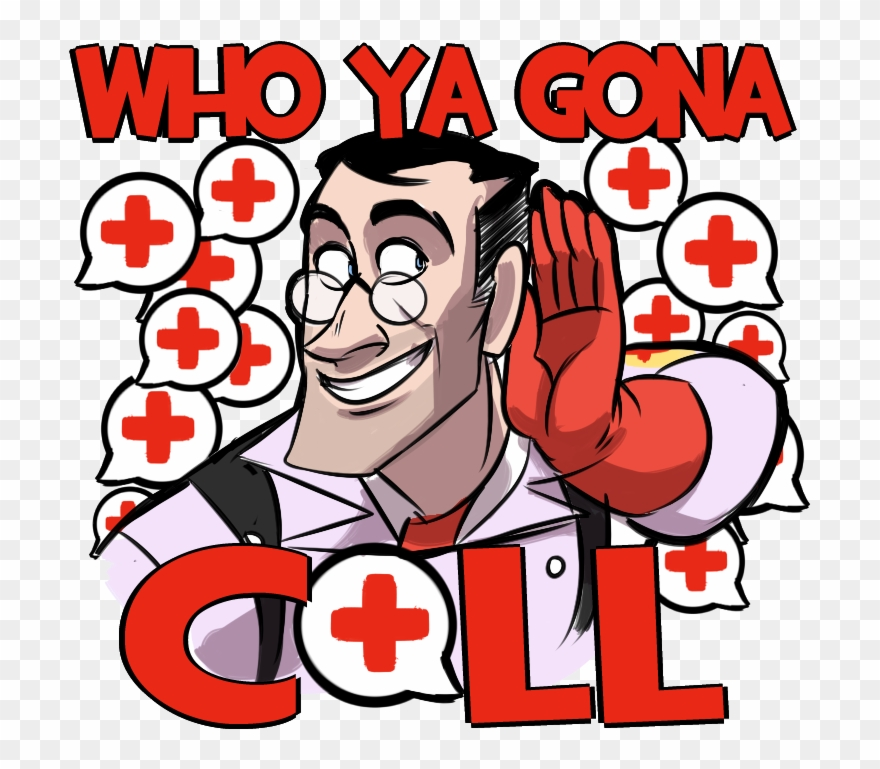 Team fortress 2 medic clipart svg royalty free Download - Team Fortress 2 Medic T Shirt Clipart (#1903399 ... svg royalty free