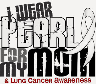 Team pearl for lung cancer awareness svg clipart